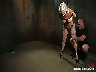 Bondage Slaves In Maledom Masochism