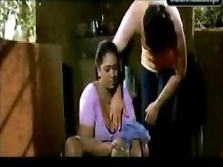Shakeela The Indian Mature Aunty Seduced Younger Boy