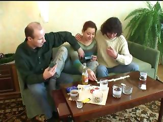 Drunk Elder Daughter Fucked By Father And His Friend