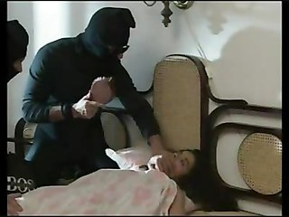 Angelica Bella Abused By 3 Burglars