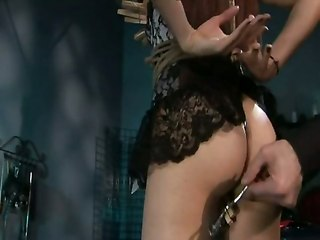 Incredible Bondage Scene With A Young Sasha Grey