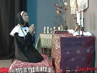 Aubrey Addams In The Nun Amp  039 S Prayer
