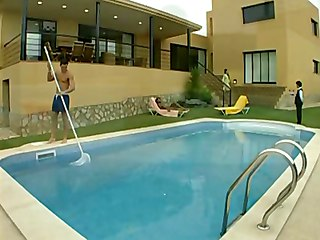 Poolside Sex